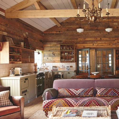 Rustic design and its timeworn charm