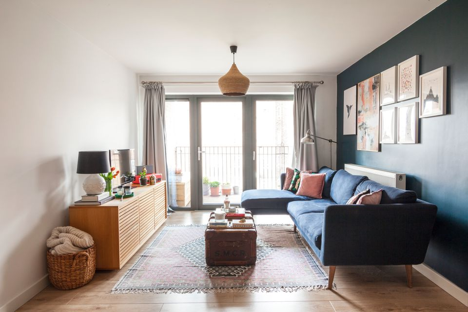 Before After How This Londoner Designed A New Build Flat Into The Perfect Cosy Home Homewings Magazine