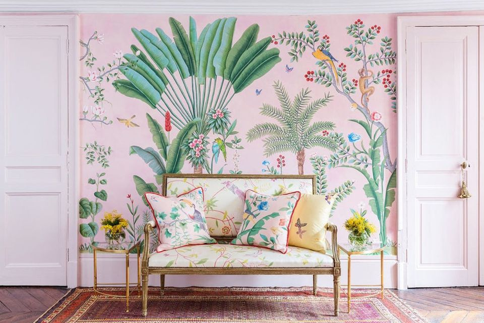 Tropical Interiors To Bring The Outside In
