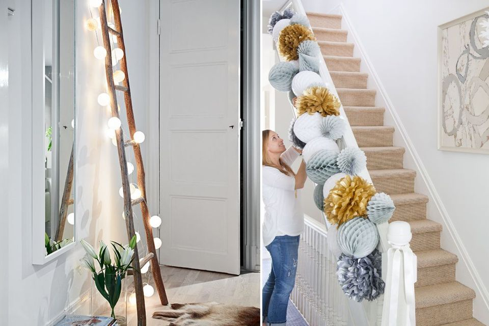 hallway-decorations-fairy-lights-party-diy