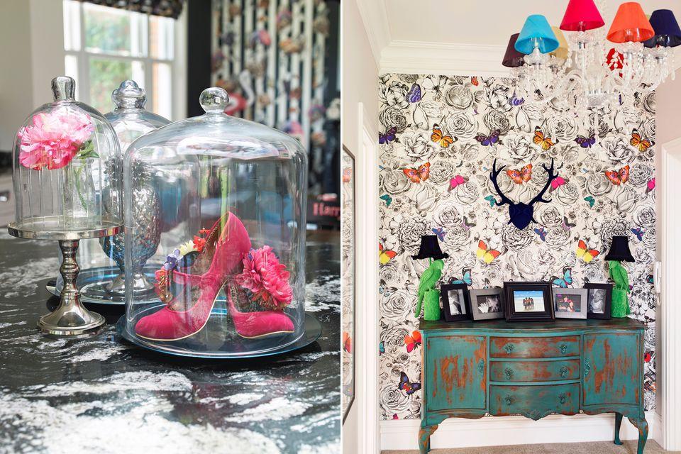 Interior-design-ideas-eclectic-fun-colourful-wallpaper