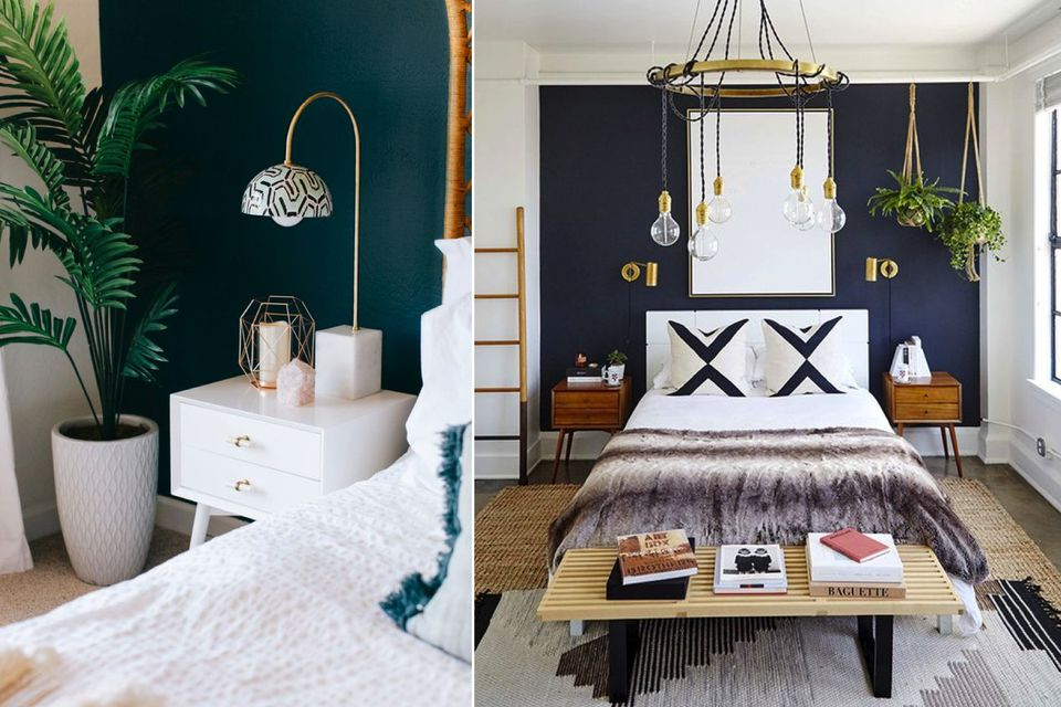 dark paint bedroom decor ideas, Decorate your bedroom for better sleep , glamorous bedroom, best colours to paint bedroom