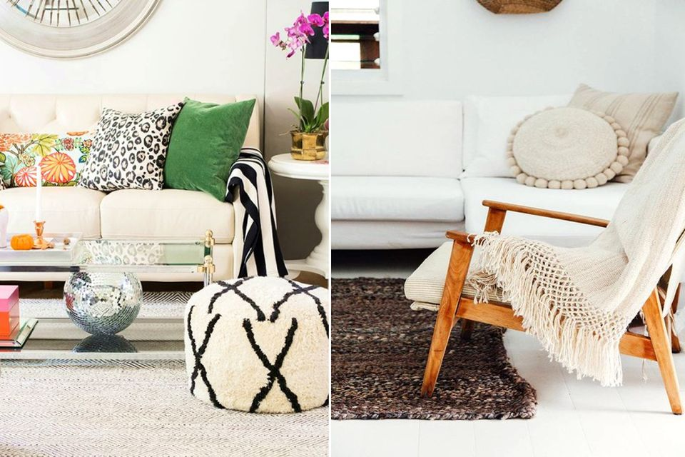 obsessed, interior design, eclectic, neutral palette, living room