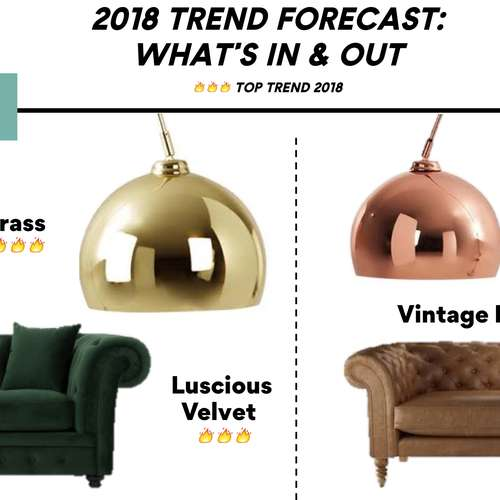 interior design, interior trends, top trends 2018, new interior trends, homewings trend report, homewings, trend report, interiors trend report, what to buy, top 10, most shopped