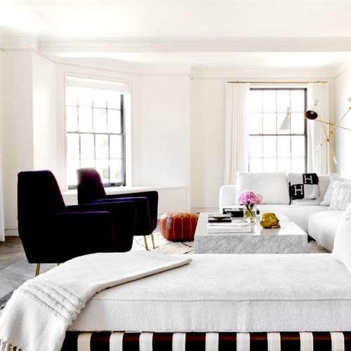 monochrome living room, black and white living room design, homewings design inspiration, black and white interior inspiration, living room inspiration, how to decorate living room