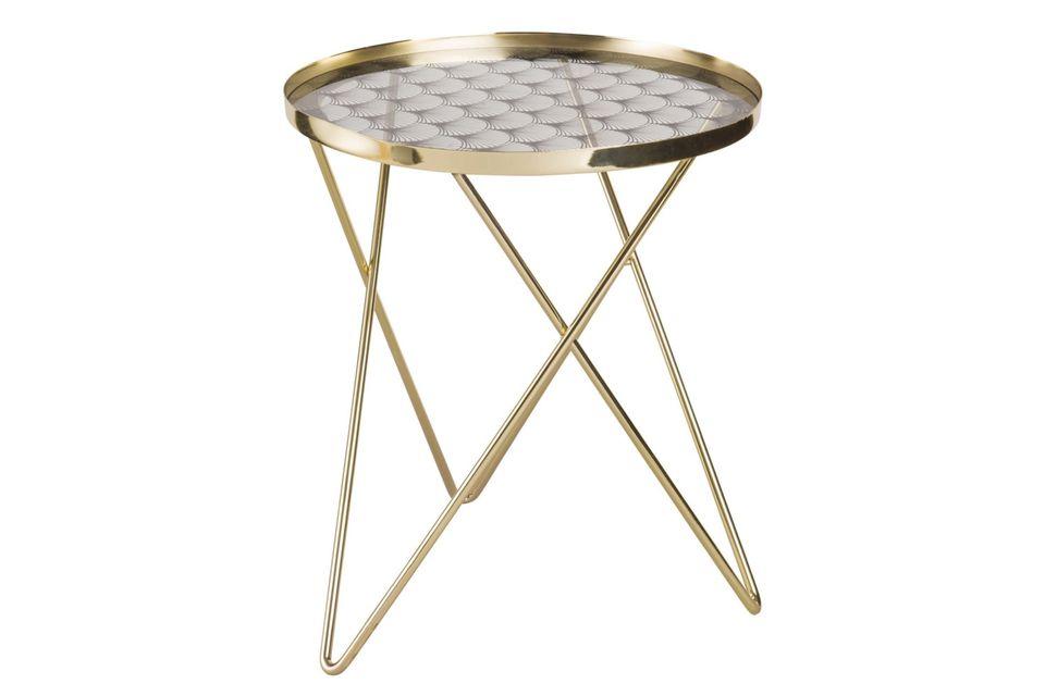 maisons du monde, side table, gold side table, gold, glass, modern furniture, scandi furniture, interior design, giveaway, homewings