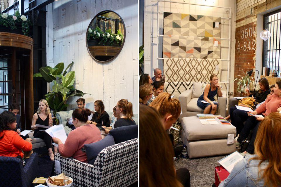 Homewings & Sofa.com event