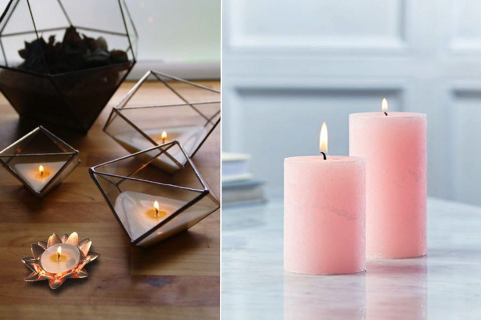 Fall interiors, Summer to fall, candles, furnishings