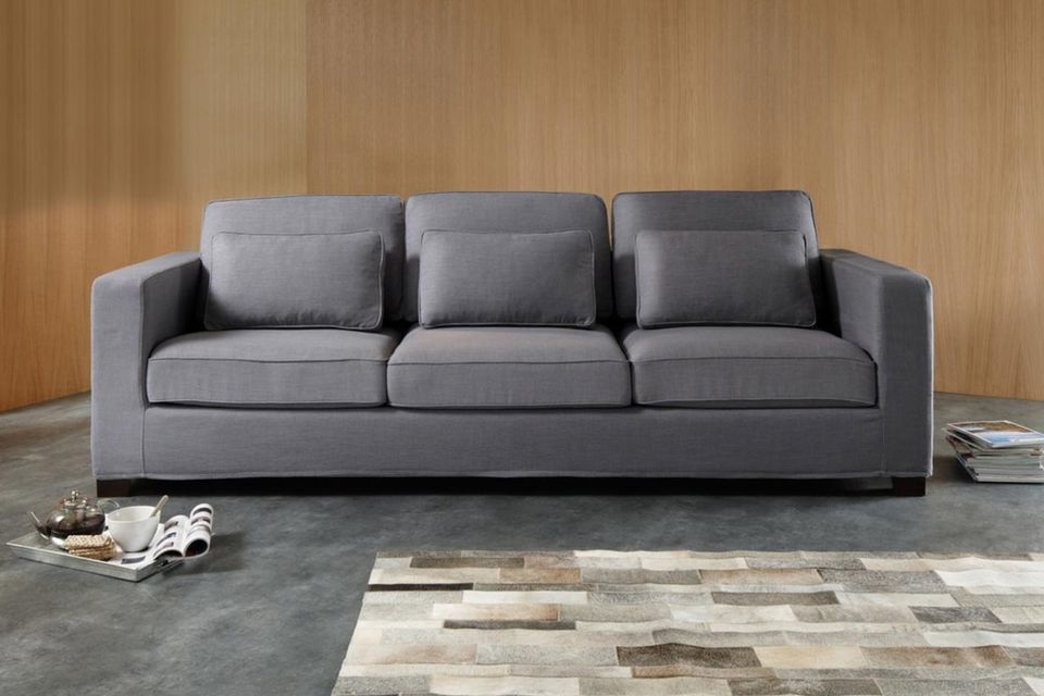 How to buy the perfect sofa, maison du monde, dark grey couch
