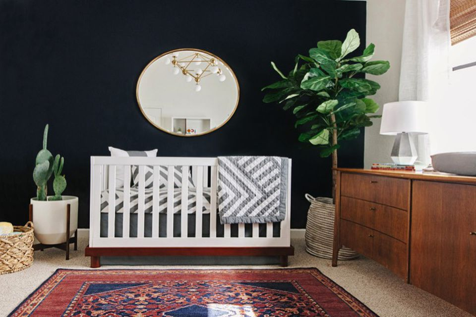 kids room, childrens room, room your child will grow into, neutral nursery,
