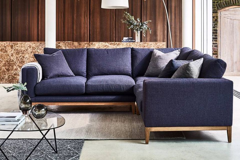 How to buy the perfect sofa, sofa.com, couch, dark blue