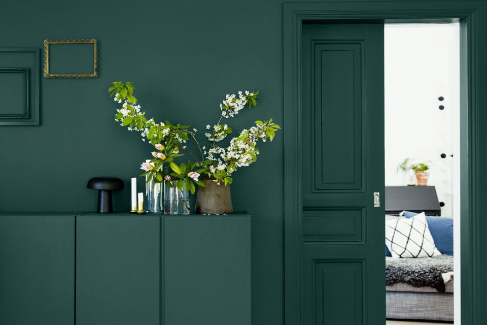Dark Green The Interior Trend You Need Right Now Amp How To