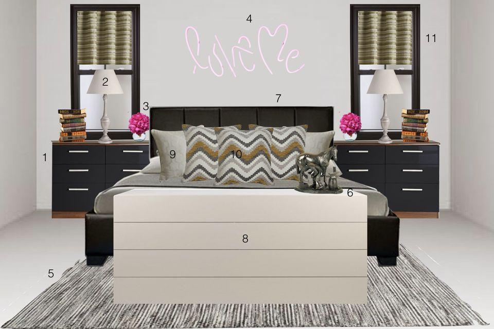 Kourtney Kardashians Home Get The Look Homewings Magazine - Kourtney kardashian bedroom furniture