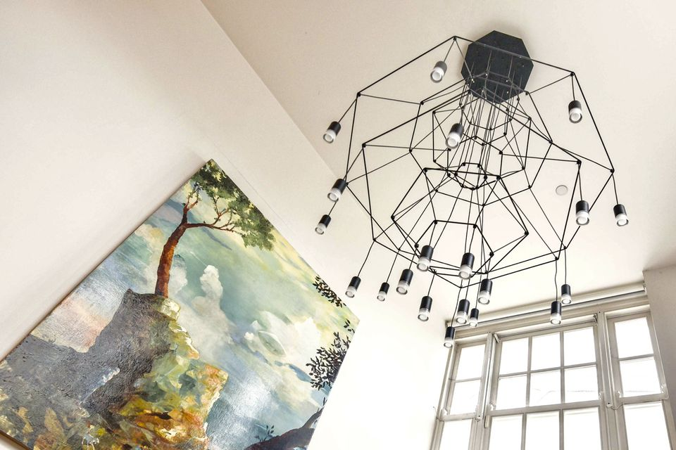 high-cielings-hanging-light-chandelier