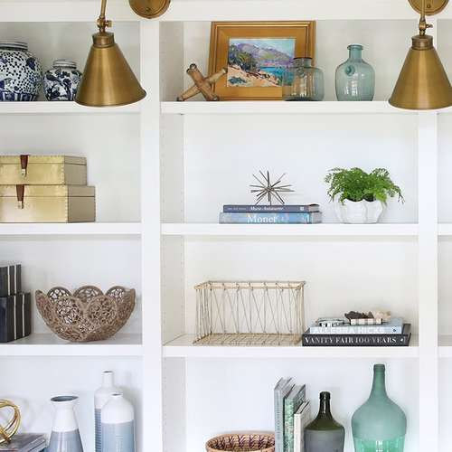 Style A Bookcase How To Decorate Expert Tips Interior Design